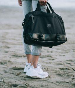 Tas Selempang Laptop Kerja Kuliah Travel Kanvas Pria Wanita Jakarta